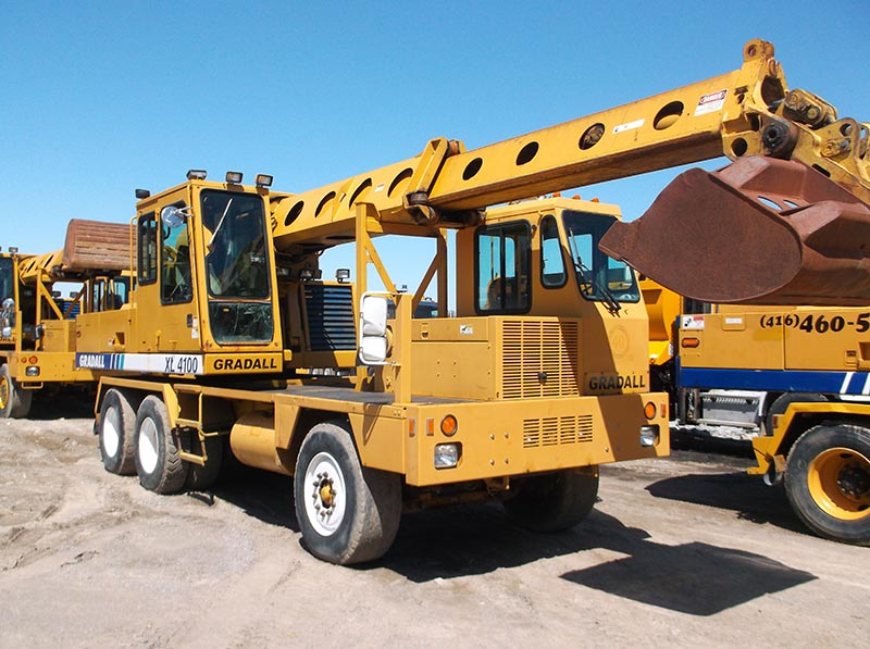 Contact Don Cordingley Gradall Rental Ltd